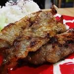 油田カフェ - 豚肉の塩麹焼き