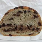 ラフォレ・エ・ラターブル - チョコチップパン カット