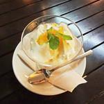 ワイアードカフェダイニングラウンジ - 豆乳のブラマンジェ