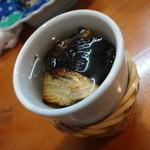 文楽寿司 - ドリンク写真:ヒレ酒