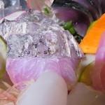 魚の家 - 炙り太刀魚は身が甘い