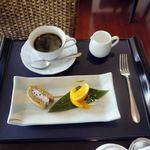 レストラン オーブ - 季節のデザートとコーヒー