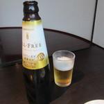 炭火焼肉 清香園 - ドリンク写真:車で来てたので乾杯はノンアルコールビールです。
