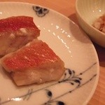 鮨 なかむら - 金目鯛