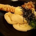 瀬戸内製麺710 - ちく玉天ぶっかけ