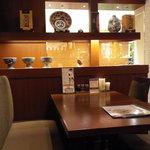 墨花居 - テーブルのイメージはこんな感じ