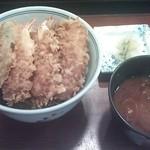 天良 - 特製天丼 1,260円