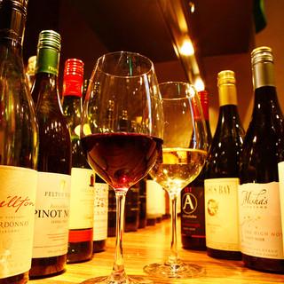 約200種のニュージーランドワイン
