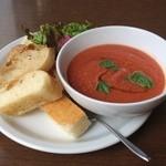 カフェ コチ - 本日のスープ(ガスパチョ・トマトの冷製)