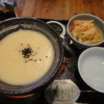 韓日茶苑 楽zen - 緑豆粥セット