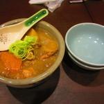 肉酒場寿楽 - 牛筋煮込み