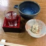 角館そば - 冷酒 2013.05