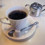 やまごや - 飲み物セット(200円)のホットコーヒー