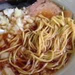 藍華 - 麺