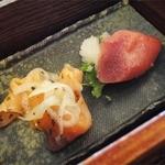 十勝 - 角切りステーキランチ(1390円)副菜①