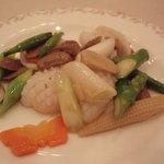 1935831 - イカの柚子胡椒炒め