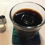 Niban - ドリンクにアイスコーヒーを注文