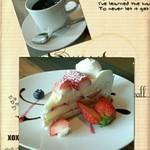 カフェゴーサンブランチ - 苺ショートケーキ♬*