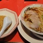 中華そば ふじい - 昼飯セット850円
