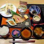 和食波奈 - 本日の焼魚と天麩羅膳