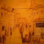 Caffe Luca - 壁の絵