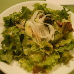 Oyster Bar ジャックポット - ランチのサラダ 大皿です