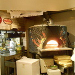 Oyster Bar ジャックポット - ピザ焼き釜