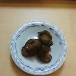 北神餃子 - 北神塩麹からあげ定食(漬物)