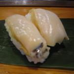 魚がし寿司 - 「アワビ」
