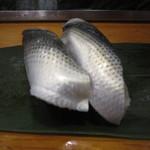 魚がし寿司 - 「小肌」