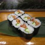 魚がし寿司 - 「ひもきゅう」
