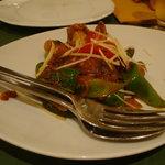 カイバル - 浅蜊とピーマンの前菜