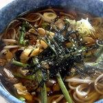 さん味 - 料理写真:山菜そばですよ