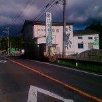 Takadatsuusenen - 307号線から信楽方面に向かって行くと、こんな感じで現れて…