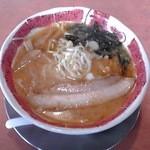 中華飯店 幡龍 - 味噌らーめん:680円(税込)【2013年3月撮影】