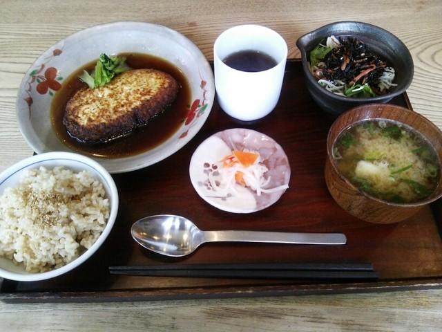 びお亭 - ある日の玄米定食2