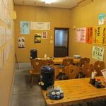 市場のめし屋 浜ちゃん - 隣の部屋。こちらは客席のみ。