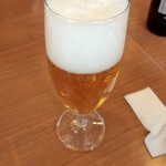 ココス - ココス 京都梅津店の瓶ビール504円(13.02)