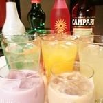 アポロカフェ - お酒の種類も飲み放題の種類も豊富です!