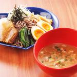 ローリング蕎麦ットJ - 魚介豚骨ラリアット(全部のせ)