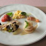 19367155 - スペシャルランチ ¥2100の前菜