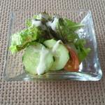 19367172 - スペシャルランチ ¥2100のサラダ