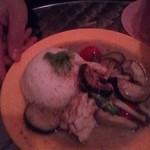 オカバンゴ - グリーンカレー800円