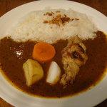 印度風カリーライス 吉葉 - チキンカレー オリジナルソース