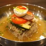パンガパンガ - 自家製出汁に韓国から取り寄せた麺を使った冷麺!去年も多くの方に大変愛された逸品です夏限定