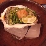 馳走屋河の - 御庄の岩牡蠣