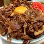 暁 - 並焼肉丼  アップ