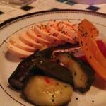 十三くま - たまごと野菜のピクルス♪