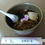 偕楽 - 料理写真:ラーメン550円