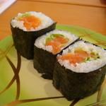 ファミリー回転寿司 いきいき - サーモンロール180円